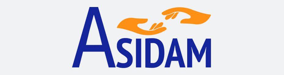 ASIDAM - Diseño de logotipo y papelería