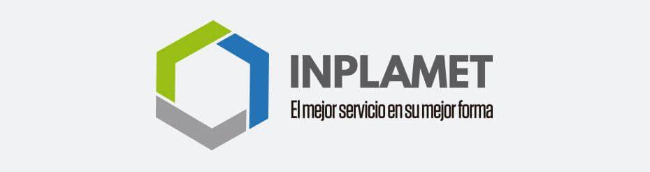 Logo Inplamet - Diseño de logotipo y papelería